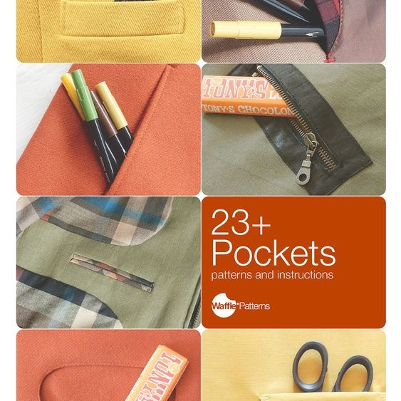 Waffle Patterns sewing patterns / 23+ Pockets pocket pattern and sewing instruction   Waffle Patterns sewing patterns / 23+ Pockets pocket pattern and sewing instruction   Waffle Patterns sewing patterns / 23+ Pockets pocket pattern and sewing instruction   Waffle Patterns sewing patterns / 23+ Pockets pocket pattern and sewing instruction   Waffle Patterns sewing patterns / 23+ Pockets pocket pattern and sewing instruction   Waffle Patterns sewing patterns / 23+ Pockets pocket pattern and sewing instruction   Waffle Patterns sewing patterns / 23+ Pockets pocket pattern and sewing instructionWaffle Patterns sewing patterns / 23+ Pockets pocket pattern and sewing instructionWaffle Patterns sewing patterns / 23+ Pockets pocket pattern and sewing instructionWaffle Patterns sewing patterns / 23+ Pockets pocket pattern and sewing instructionWaffle Patterns sewing patterns / 23+ Pockets pocket pattern and sewing instructionWaffle Patterns sewing patterns / 23+ Pockets pocket pattern and sewing instruction RECOMMENDED FABRICS MATERIALS Fabrics and materials vary depending on your project. Please refer to each instruction page.   +++ If you have any questions about the listing, please contact me. +++ Please check the shop policies before you order. My patterns and other data are for personal, non-commercial use only. But, I love to support your sewing classes or small scale sales (like Etsy sellers or local craft markets.) Please ask me about details! Thank you and Happy sewing! 23+Pockets - Pocket patterns and sewing instructions- PDF