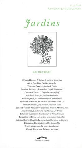 Revue Jardins No. 5, 2014