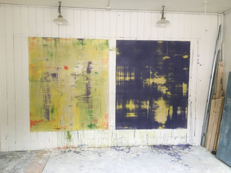 PREVIEW / Mural Commission Studio Practice — Contemporary Abstract ...