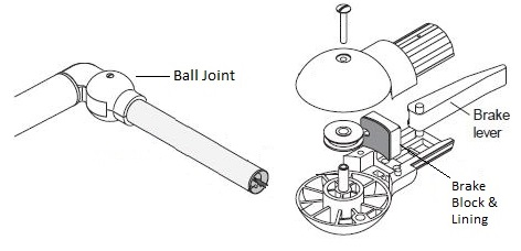 ball joint - 10 5 square