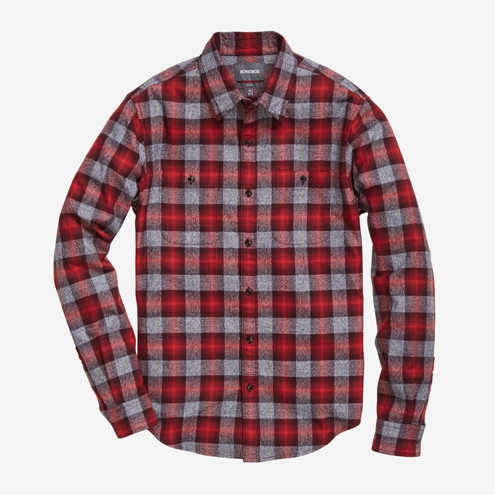 Red Plaid - $98