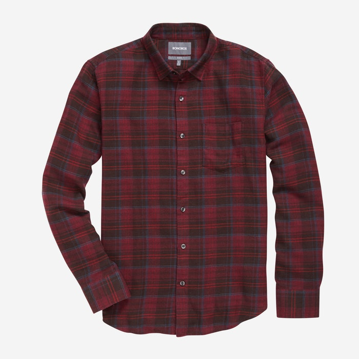 Red Wine Plaid - $98