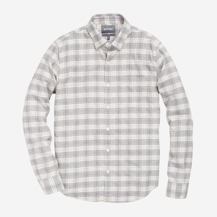 Gray Plaid - $98