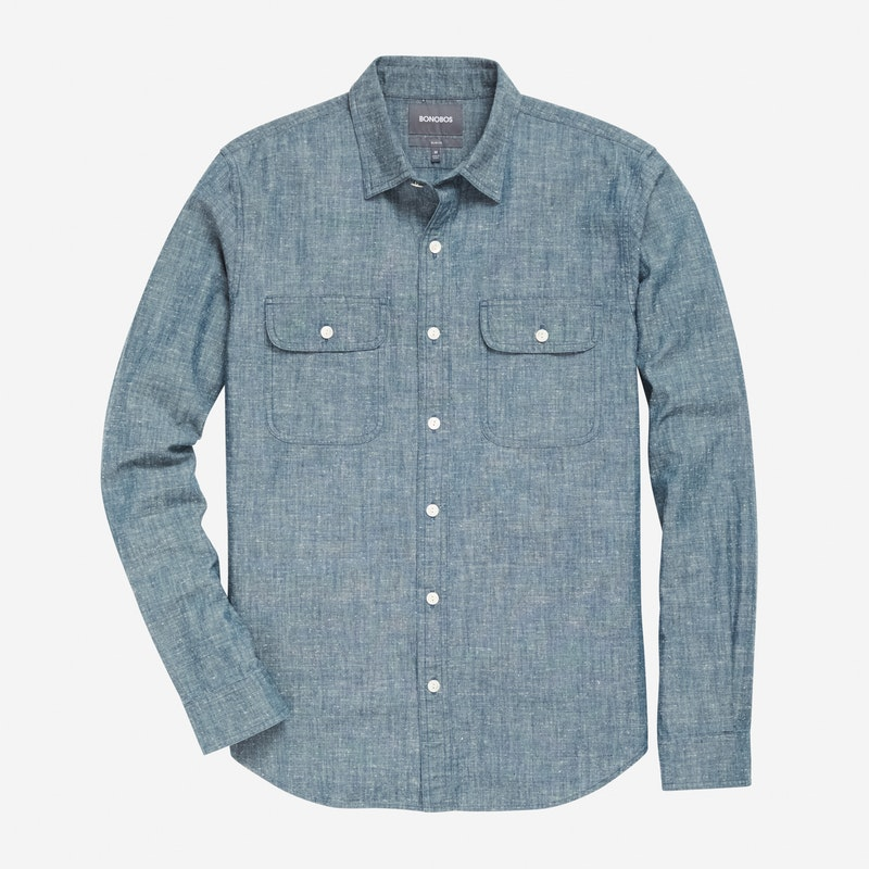 Blue Slub Wash - $148