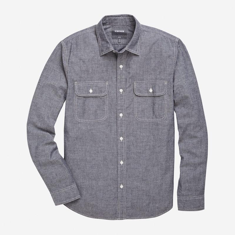 Gray Chambray - $148