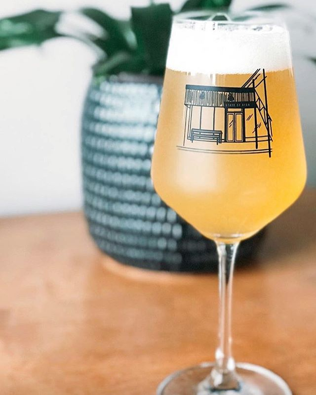 We're popping up at @stateofbeernc + @runologie today from 1-5 fully stocked with a new Fall lineup. Come hang and grab a pair of this fresh glasswear designed by our talented cofounder Lauren. | 📸: @katelynsailor