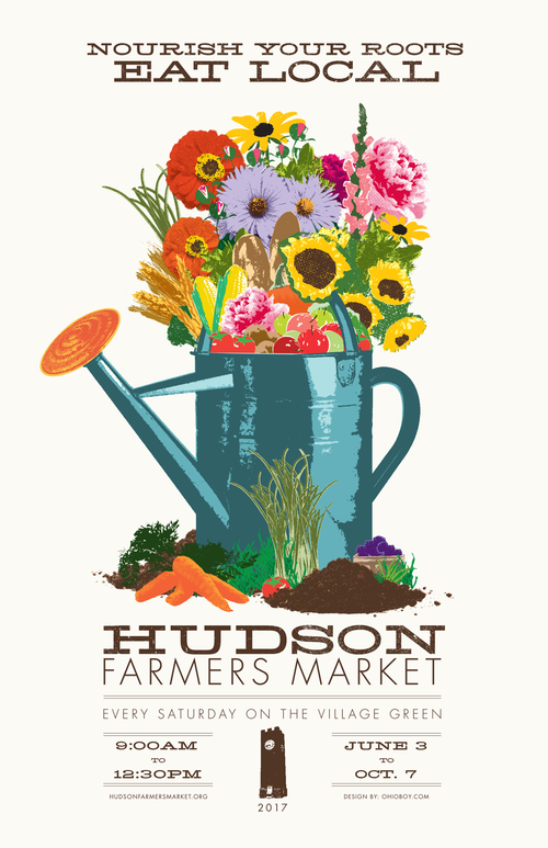 The Hudson Farmers Market - Saturday, Sept.30th &Oct. 7thThe goal of the group is to establish a self-sustaining, self-managed non-profit farmers' market to benefit local & surrounding communities, artisan producers, & small businesses.More info →