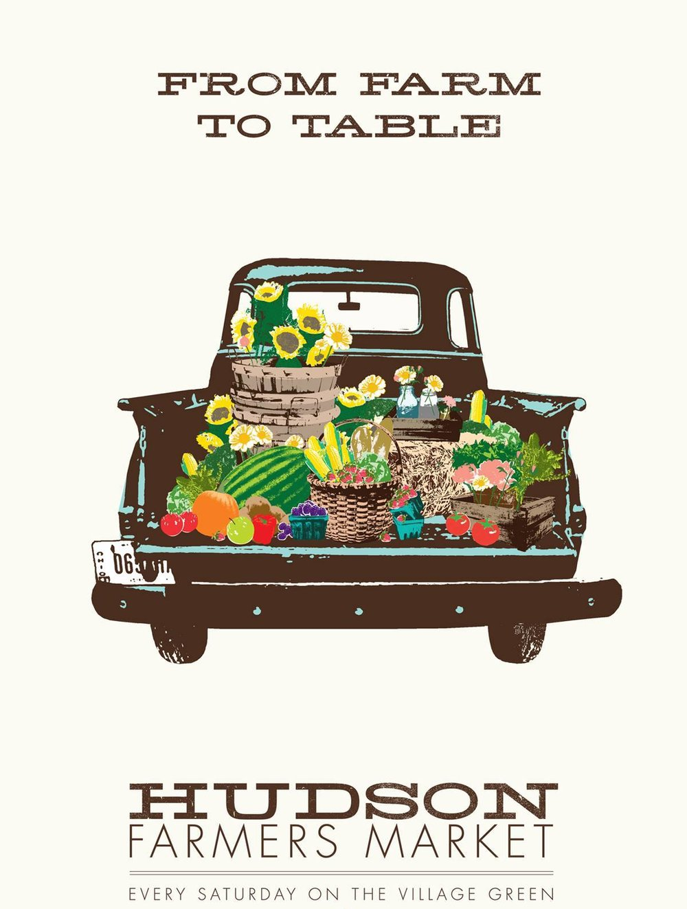 Hudson Farmers Market - June 2nd-Oct 6th Every Saturday starting June 2nd, from 9am-12:30pm on the village green. There are over 35 vendors of fresh produce, flowers, homemade food, coffee, and organic products.Read more →