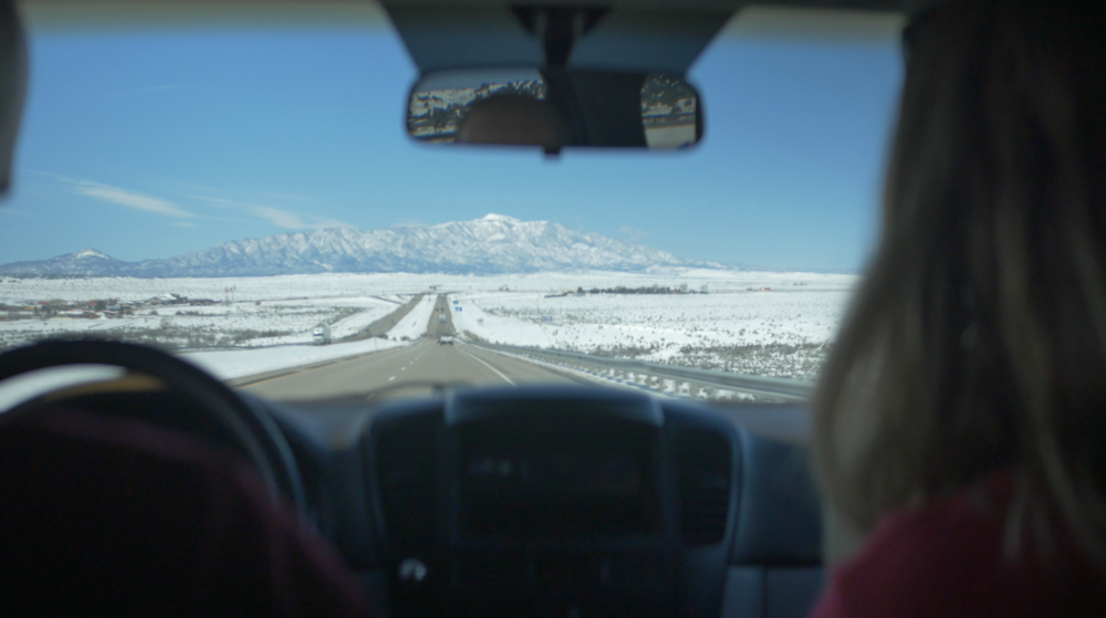 Hitting snow as Jarrad, Ryan and I enter CO for some climbing and filming!