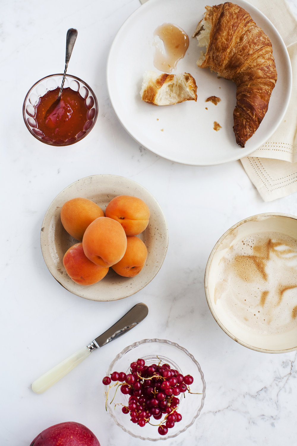 Breakfast with Apricots and Croissant.jpg
