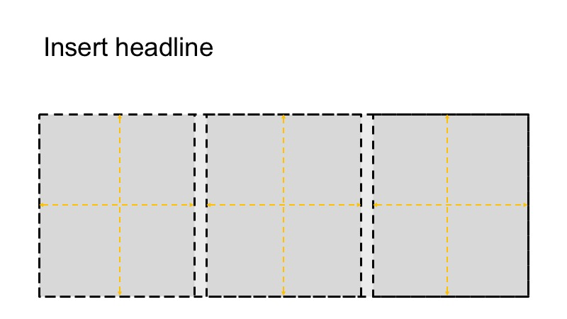 Our grid divided into 3 boxes