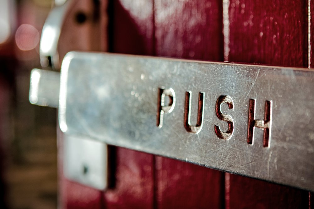When it feels like growing your business is like opening a door and it's harder than it should be, make sure that you're not pushing from the hinge side. Find another angle, ideally where the handle is ;) It sounds obvious but many of us fail to realise that we're doing it.