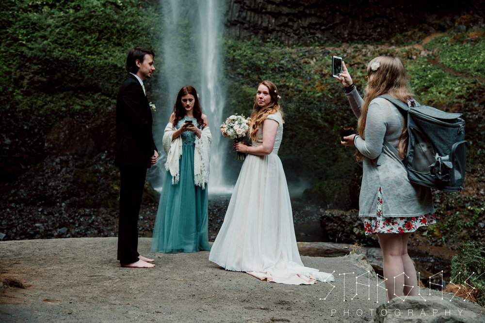 Waterfall Ceremony Portland