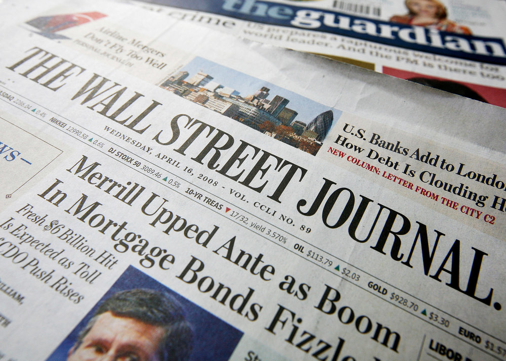 Drafted Op-Eds in Wall Street Journal on Causes That Matter
