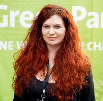 Hannah Clare - Co-chair of the Young Green Party@hannalytical