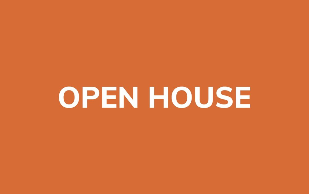 NIP Open House -  Thursday, March 29, 2018; 6:30 - 9:00 PMSunday, April 29, 2018; 1:00 - 3:30 PM