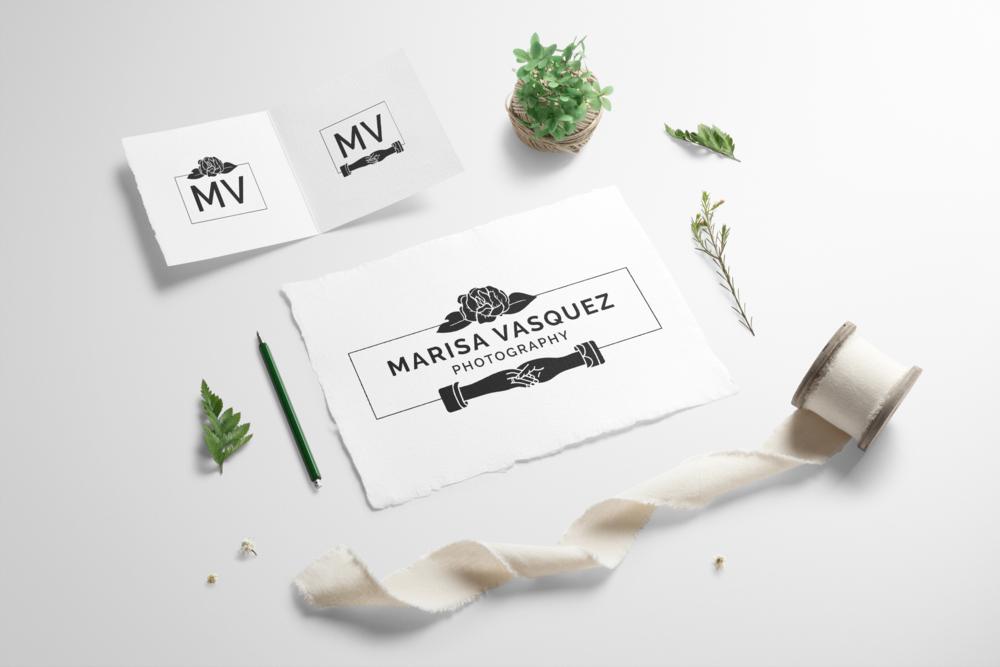 Marissa Vasquez Photography Logo Design