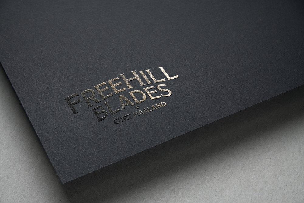Free Hill Blades Logo Design