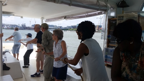 Learn! DC donors aboard the Bea Hayman Clark