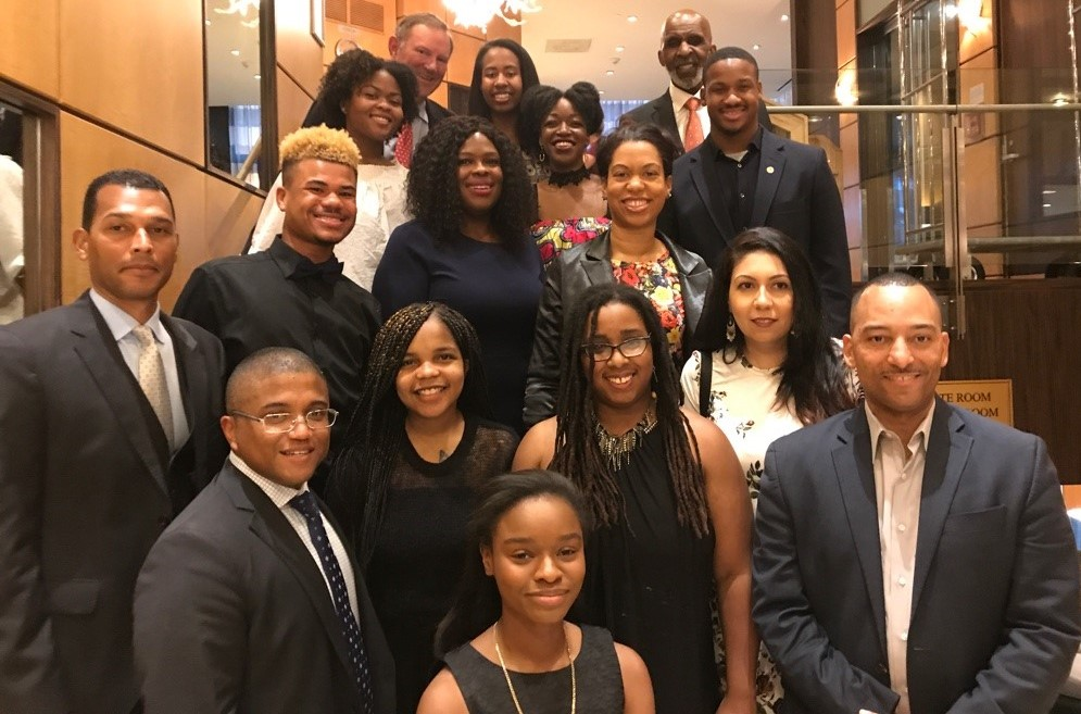 Denton Scholars at the 2018 Awards Banquet