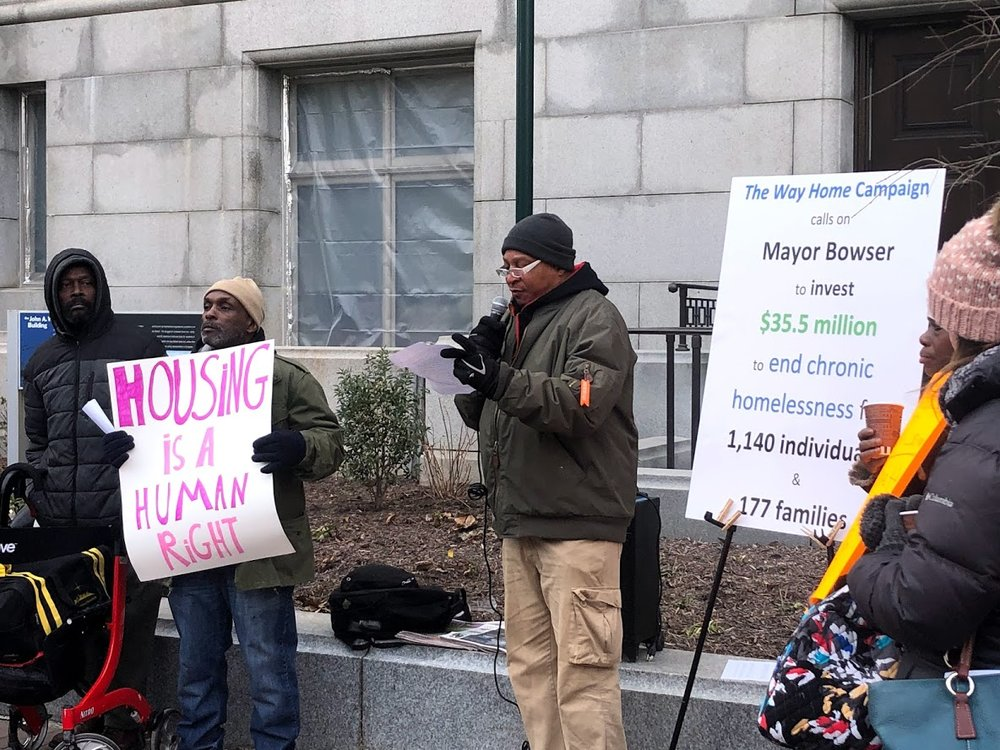 DCFPI is a key partner of the Way Home: the campaign to end chronic homelessness in Washington DC and helps organize major advocacy events led by the campaign.