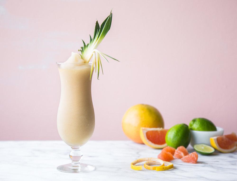 ginger colada - Kelvin Piña Colada & Ginger Slush Mix,Rum