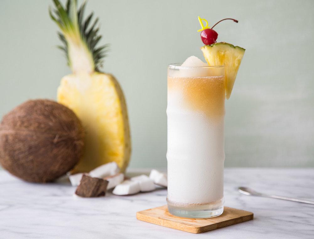 Piña Colada - Kelvin Piña Colada Slush Mix,Rum