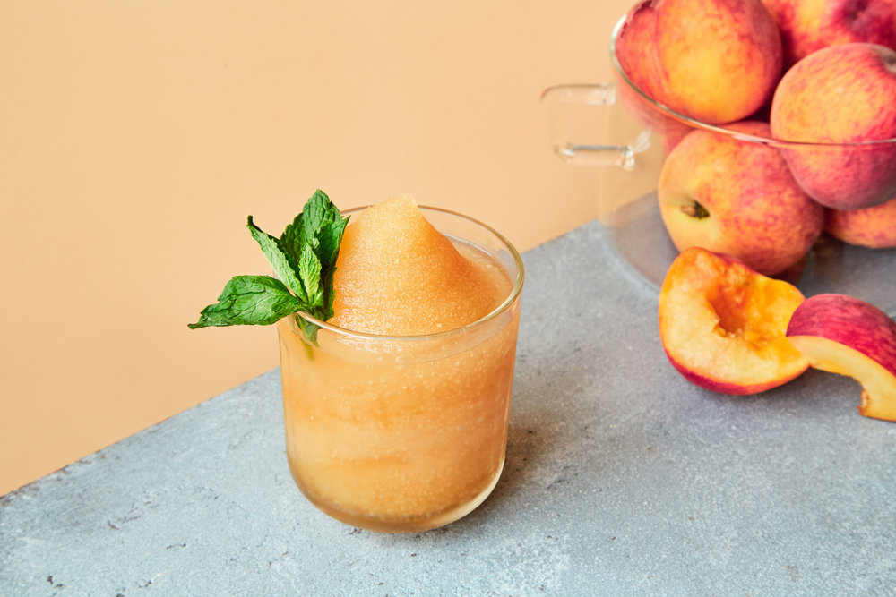 peach punch - Kelvin Tea & Frosé Slush Mix,Bourbon, Peach Liqueur