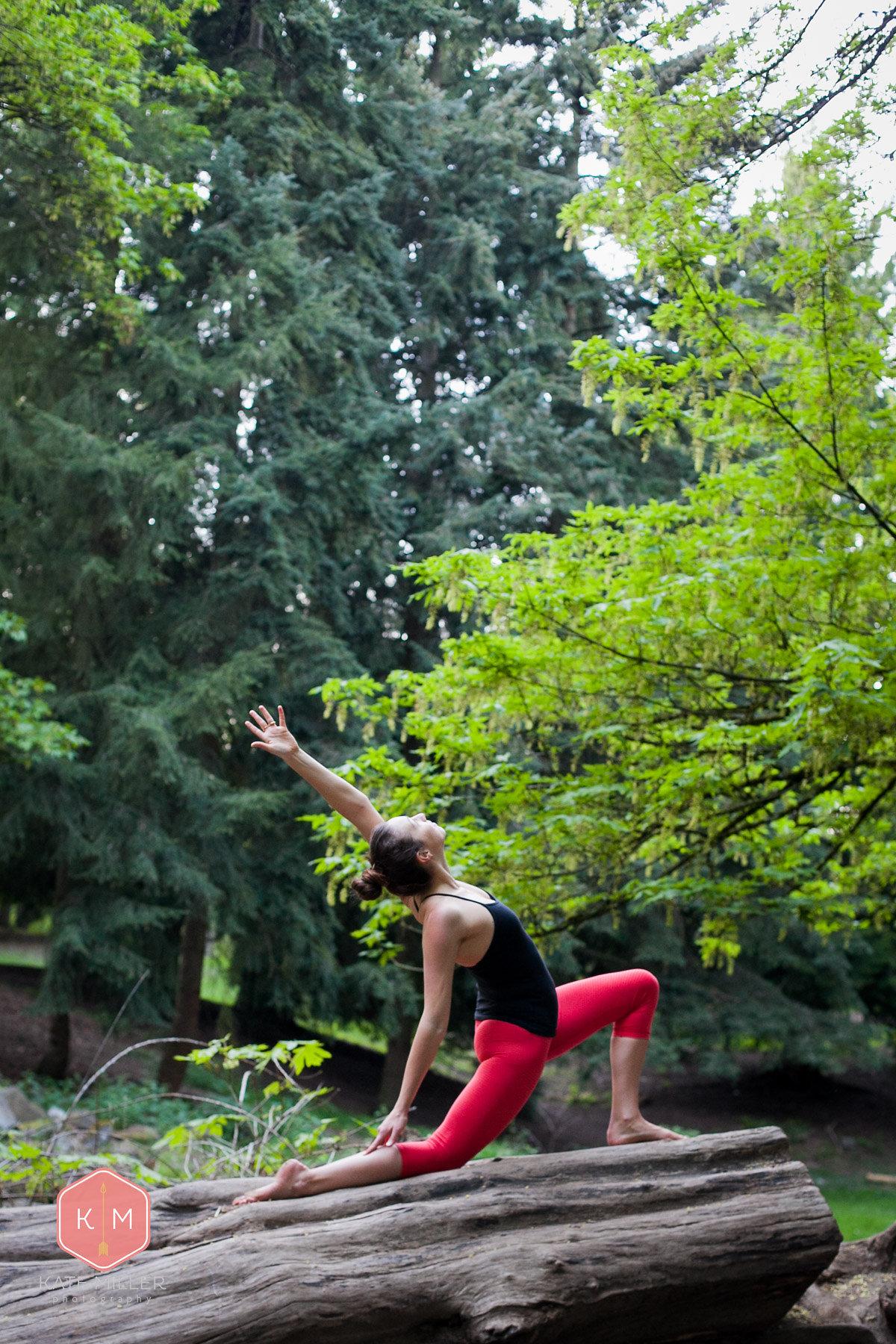 Yoga in Woodland Park, Seattle WA