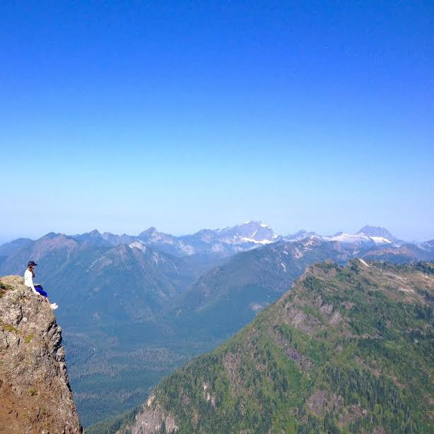 Hike Mt. Dickerson, PNW Washington State