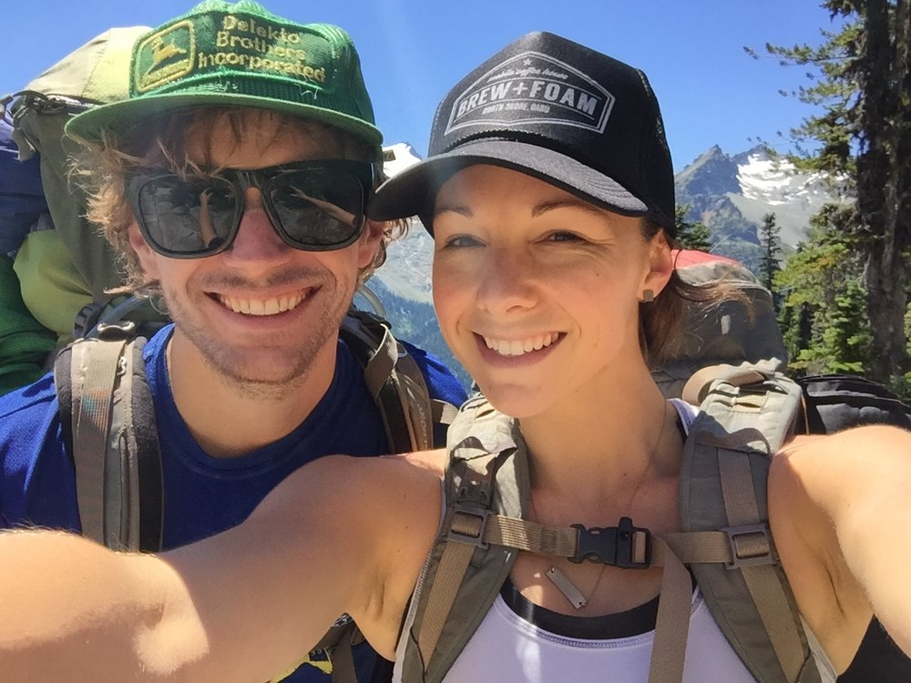 Summer backpacking in the PNW