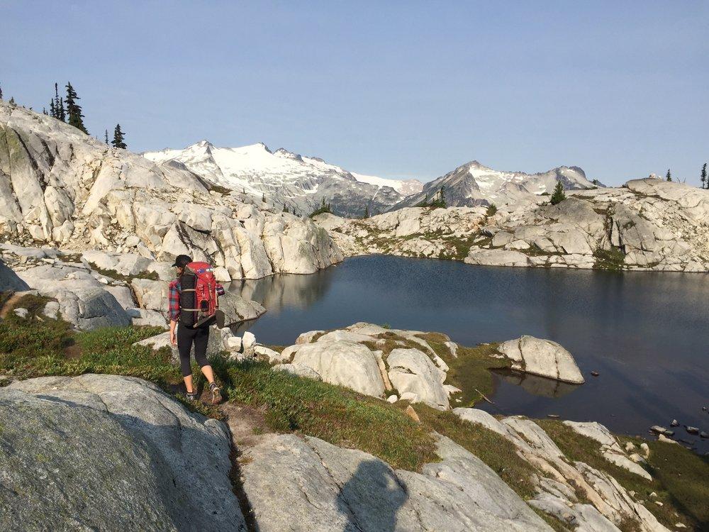 Backpacking in theOkanogan-Wenatchee National Forest