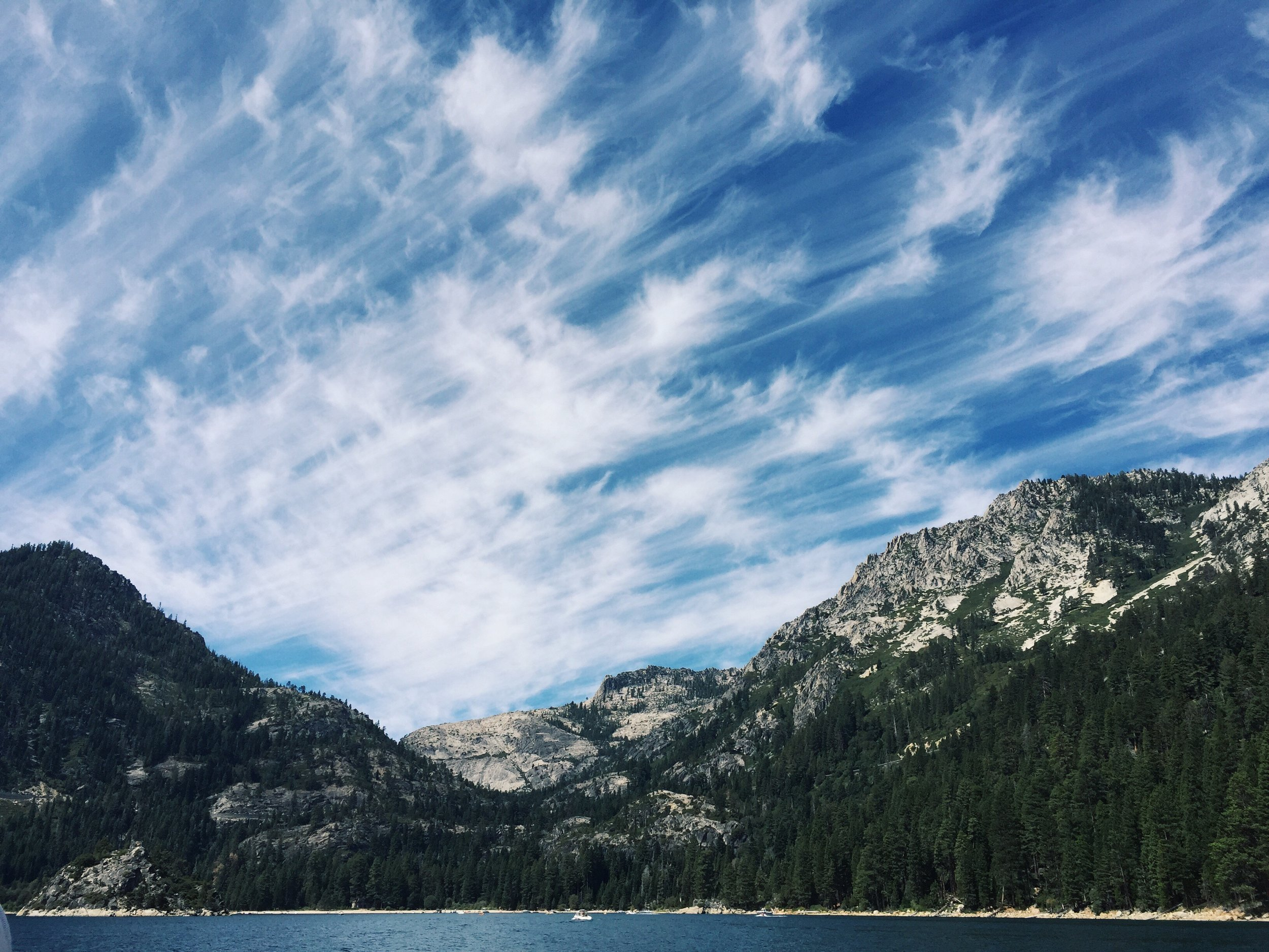 Summer at Emerald Bay in Lake Tahoe