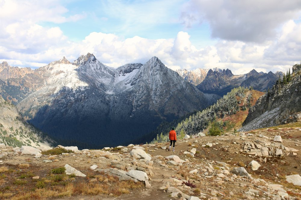 Hiking the Maple Pass Trail, Highway 20 Methow Valley