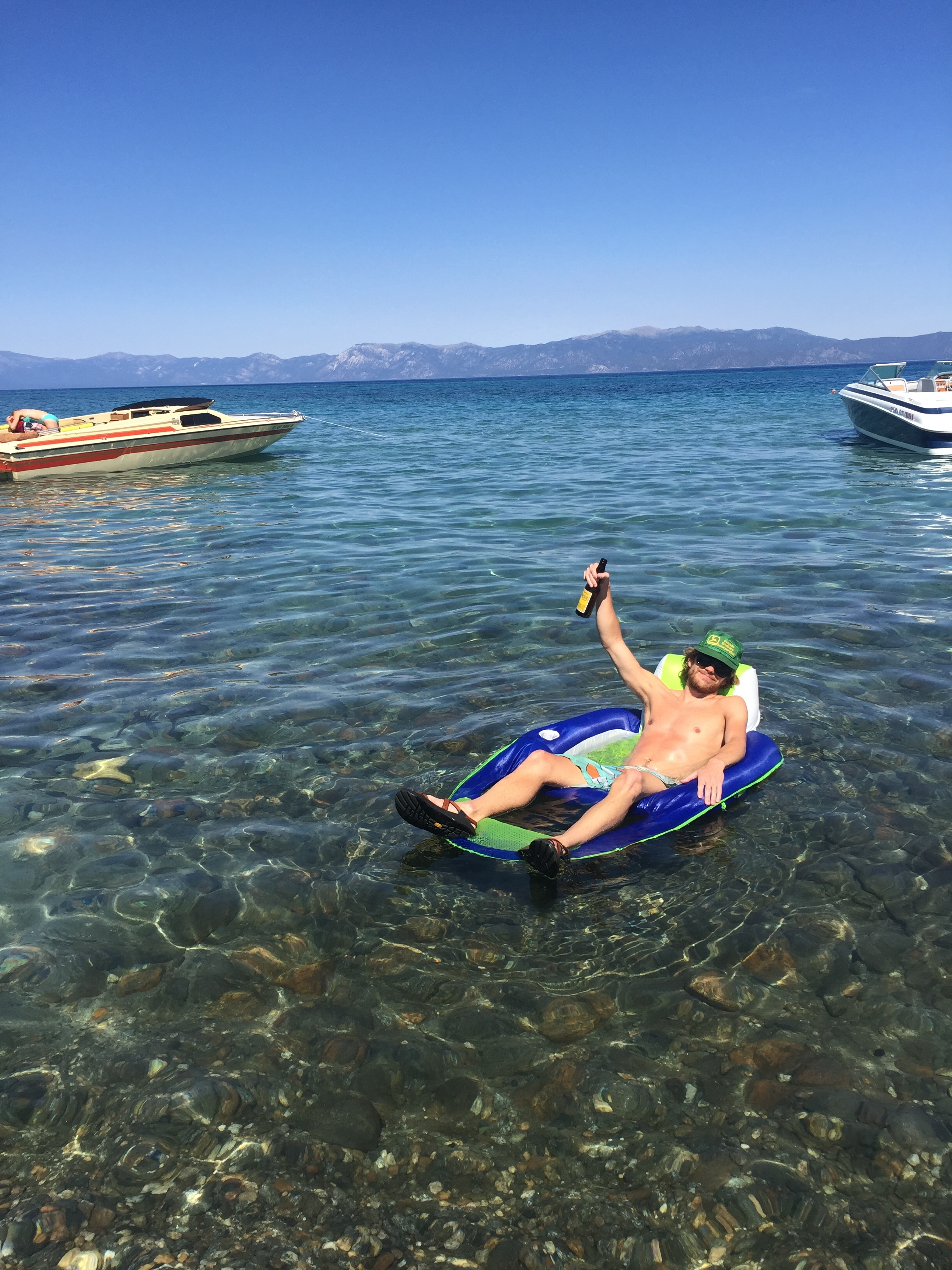 Summertime at Baldwin Beach, Lake Tahoe
