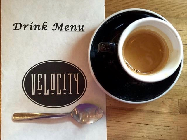 Espresso at Velocity Coffee in Port Townsend
