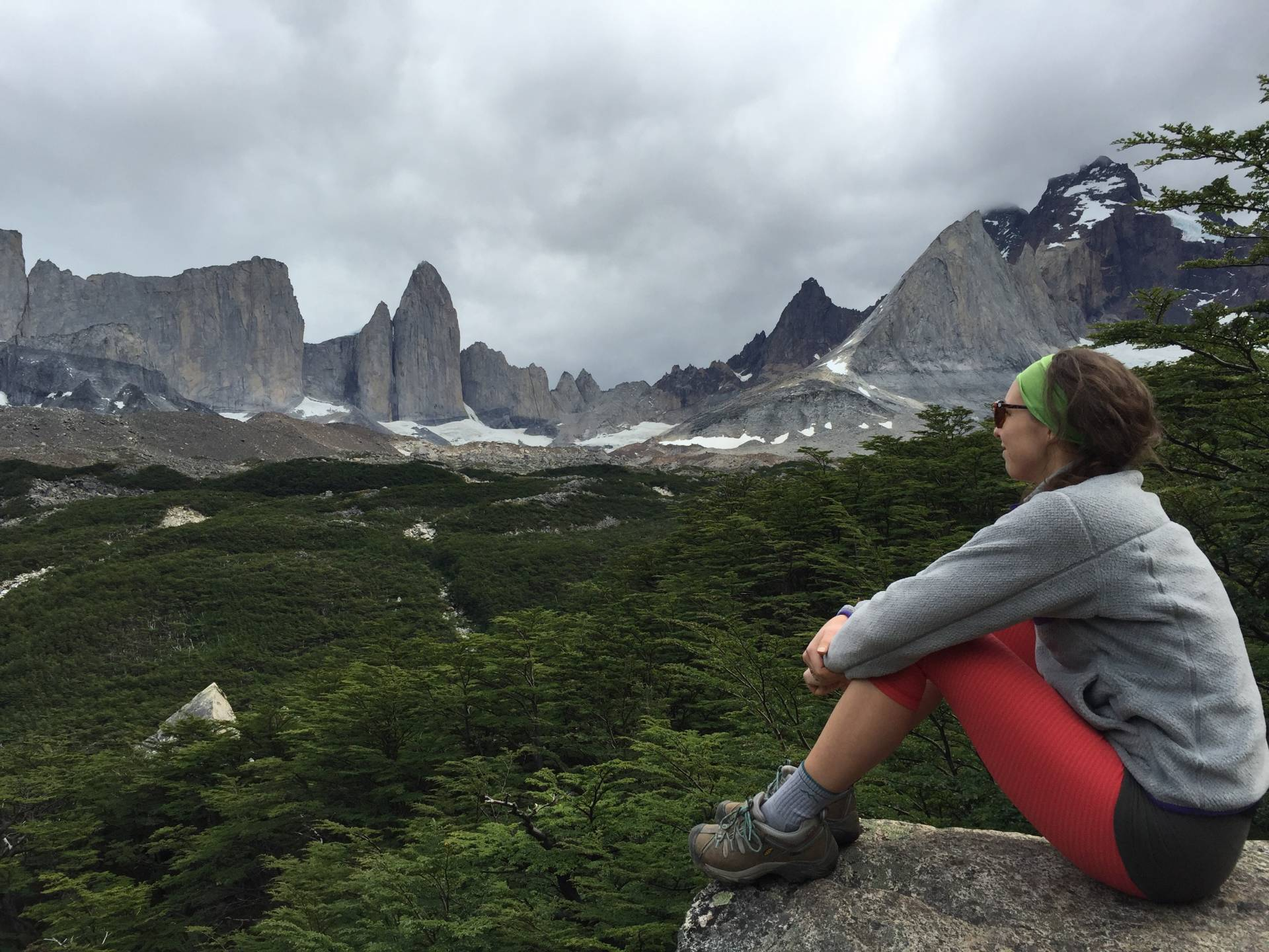 Hiking the French Valley in Torres Del Paine, Patagonia Chile