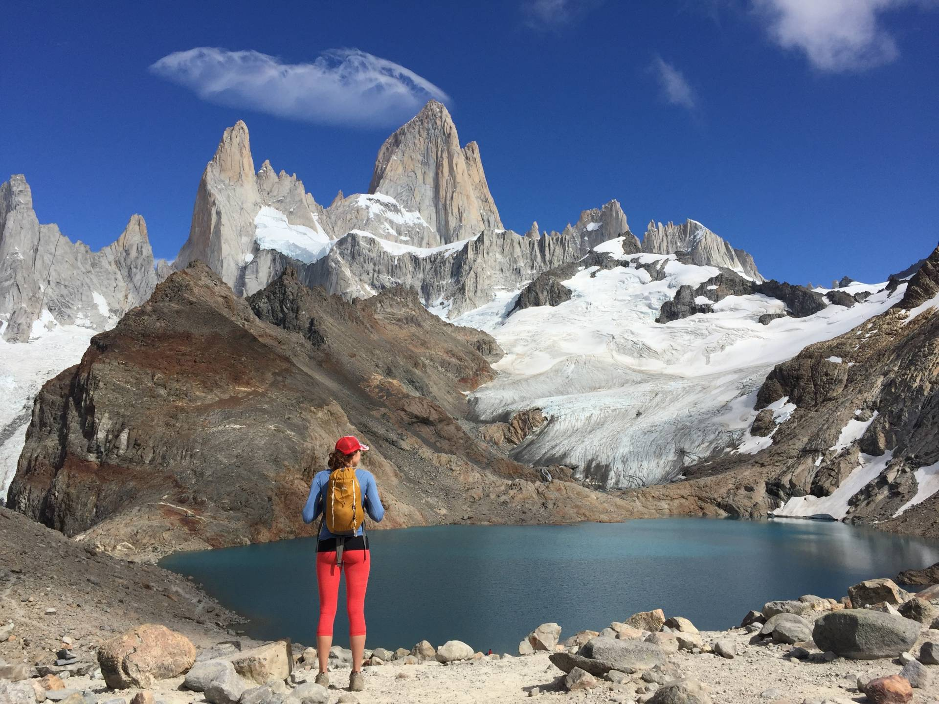 Hiking Mt. Fitz Roy, El Chalten Argentina Summer 2016