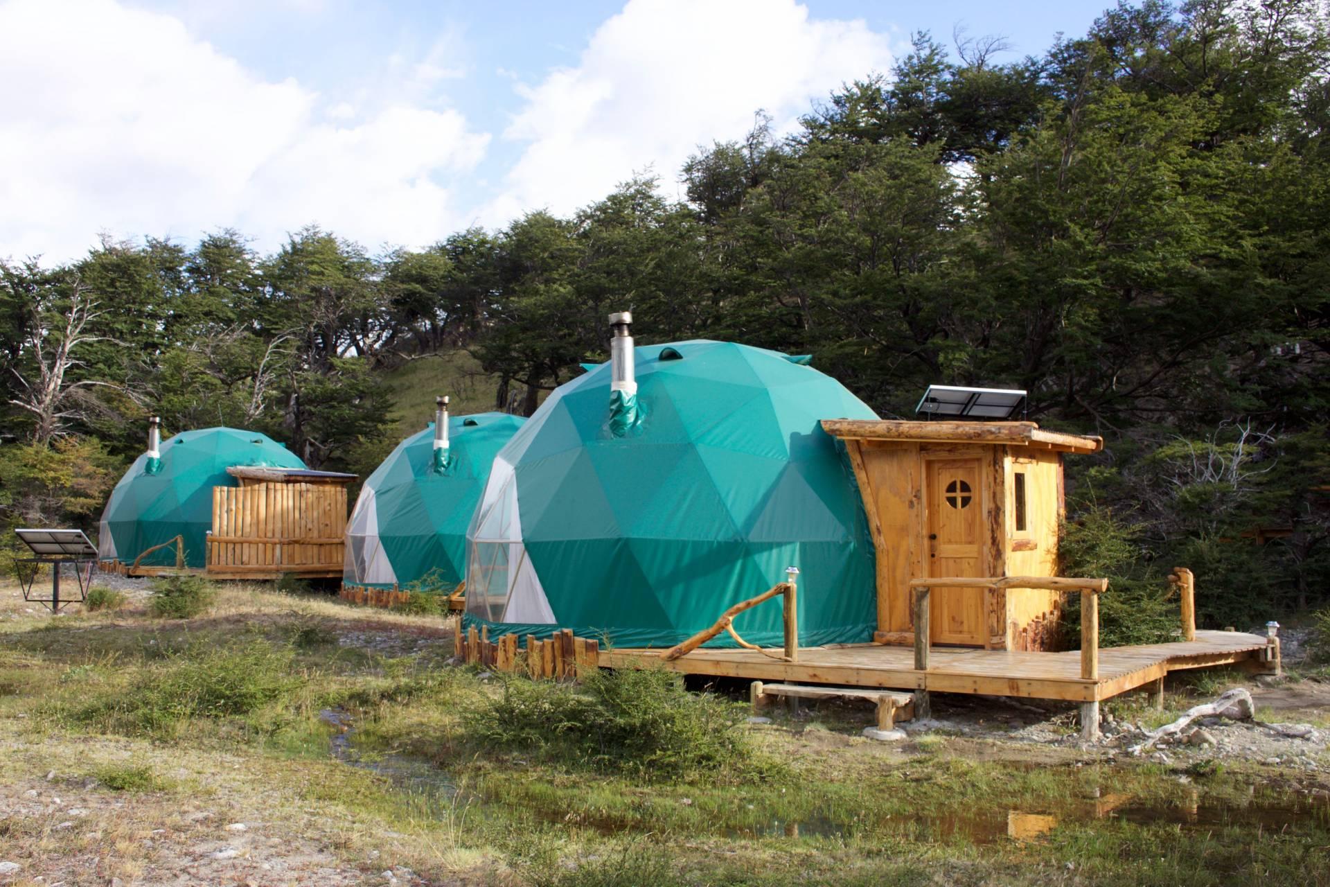 Eco Dome Hotel in El Chalten Patagonia