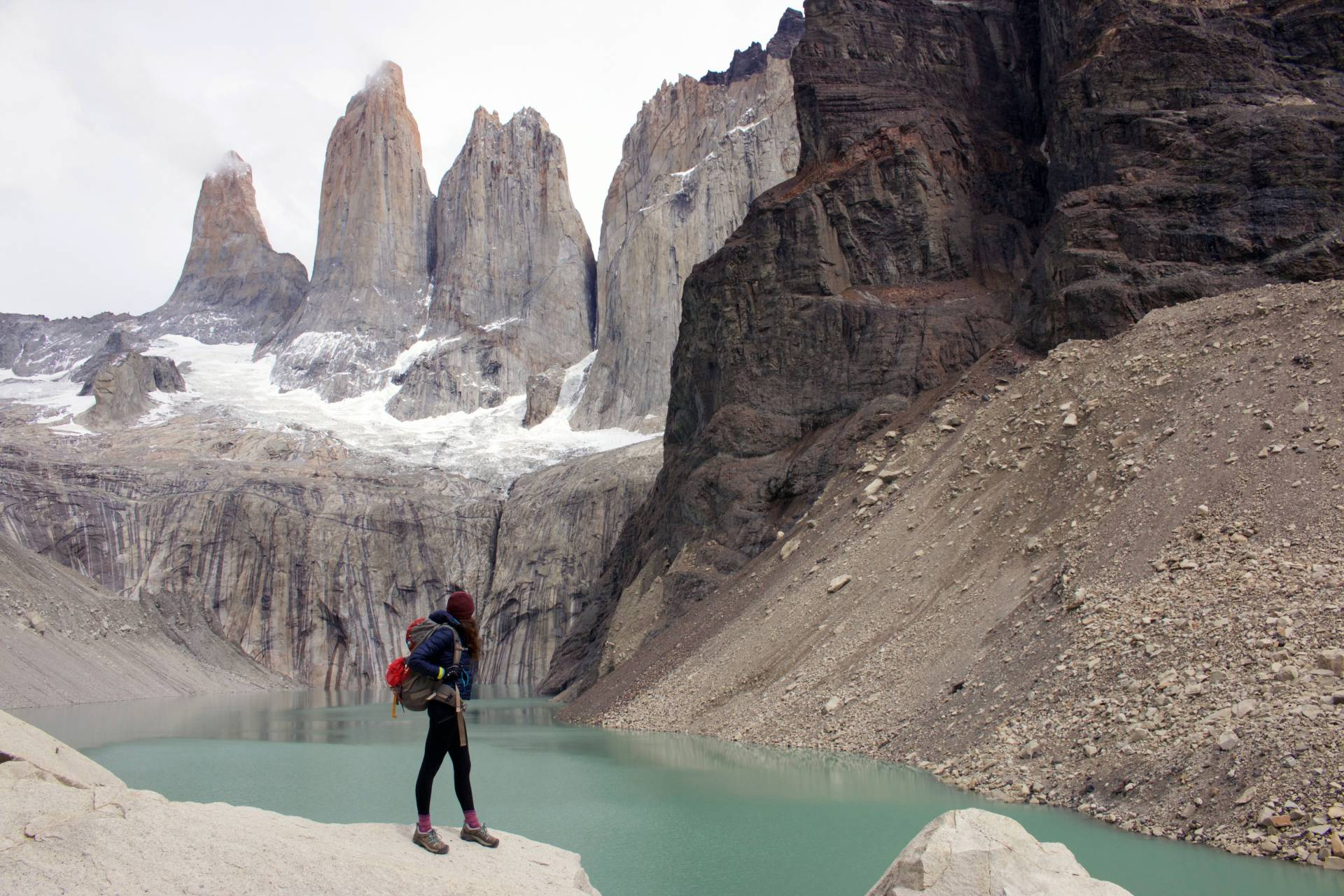 Backpacking in Torres Del Paine National Park, February 2016