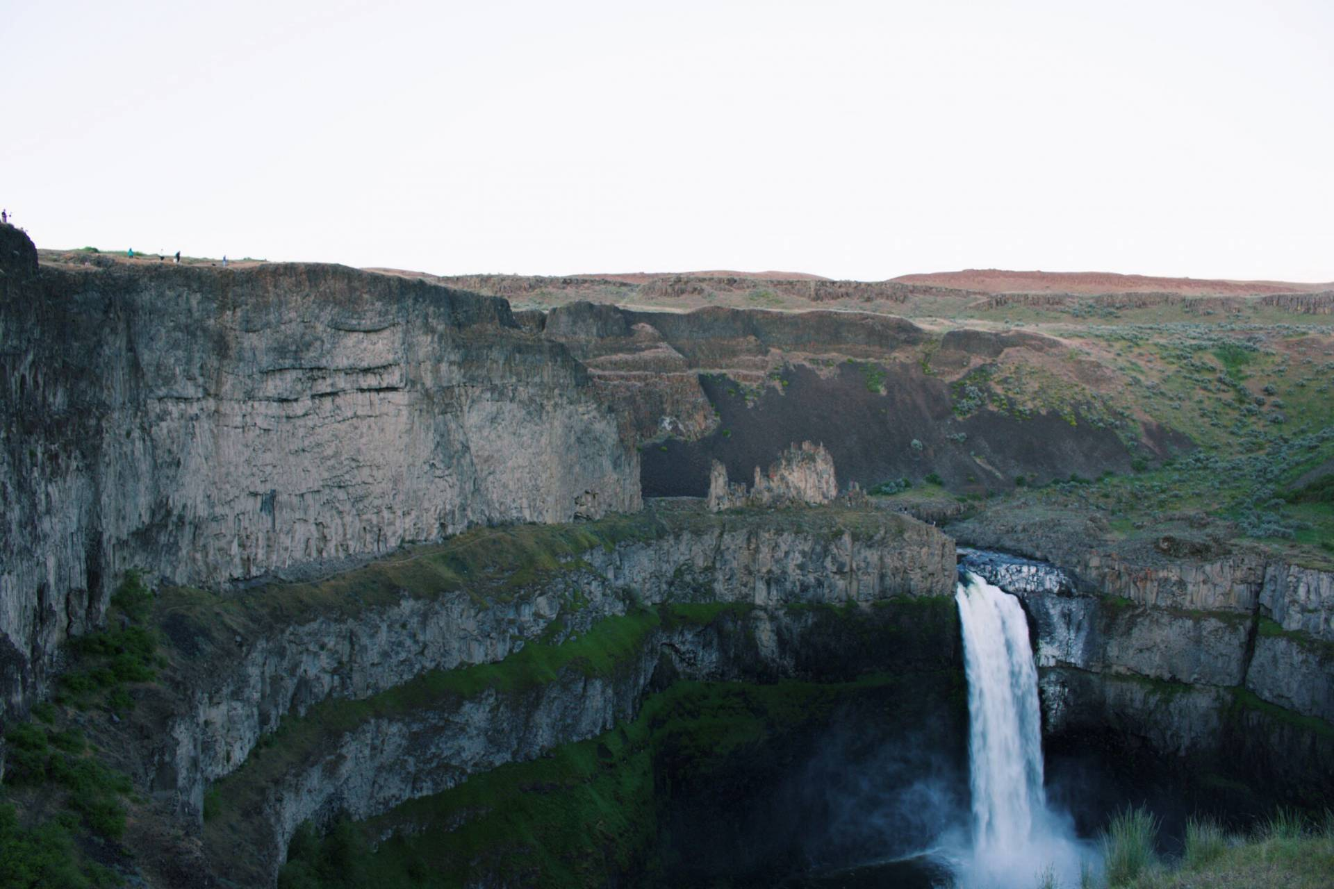 Palouse Falls at Sunset, Washington
