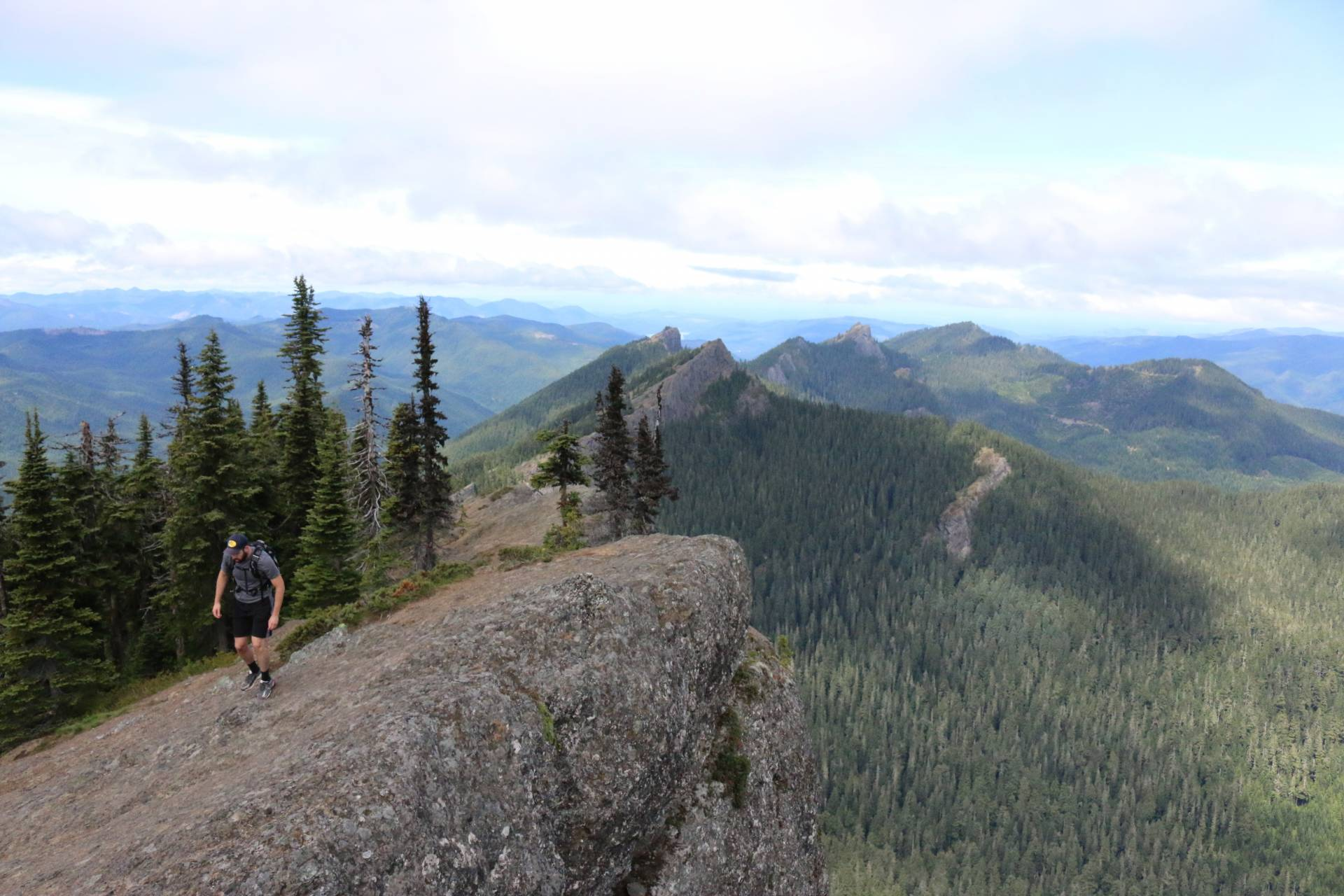 Top of High Rock Lookout Hike, Mt. Rainer WA