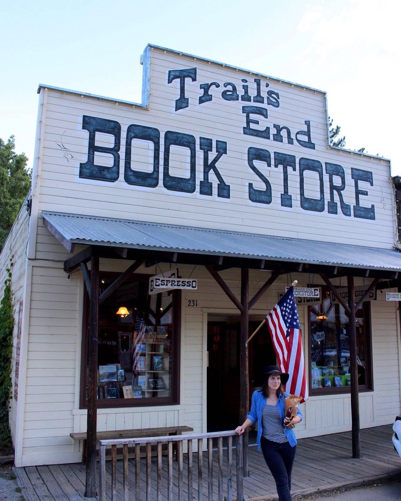 Trail's End Bookstore in Winthrop WA