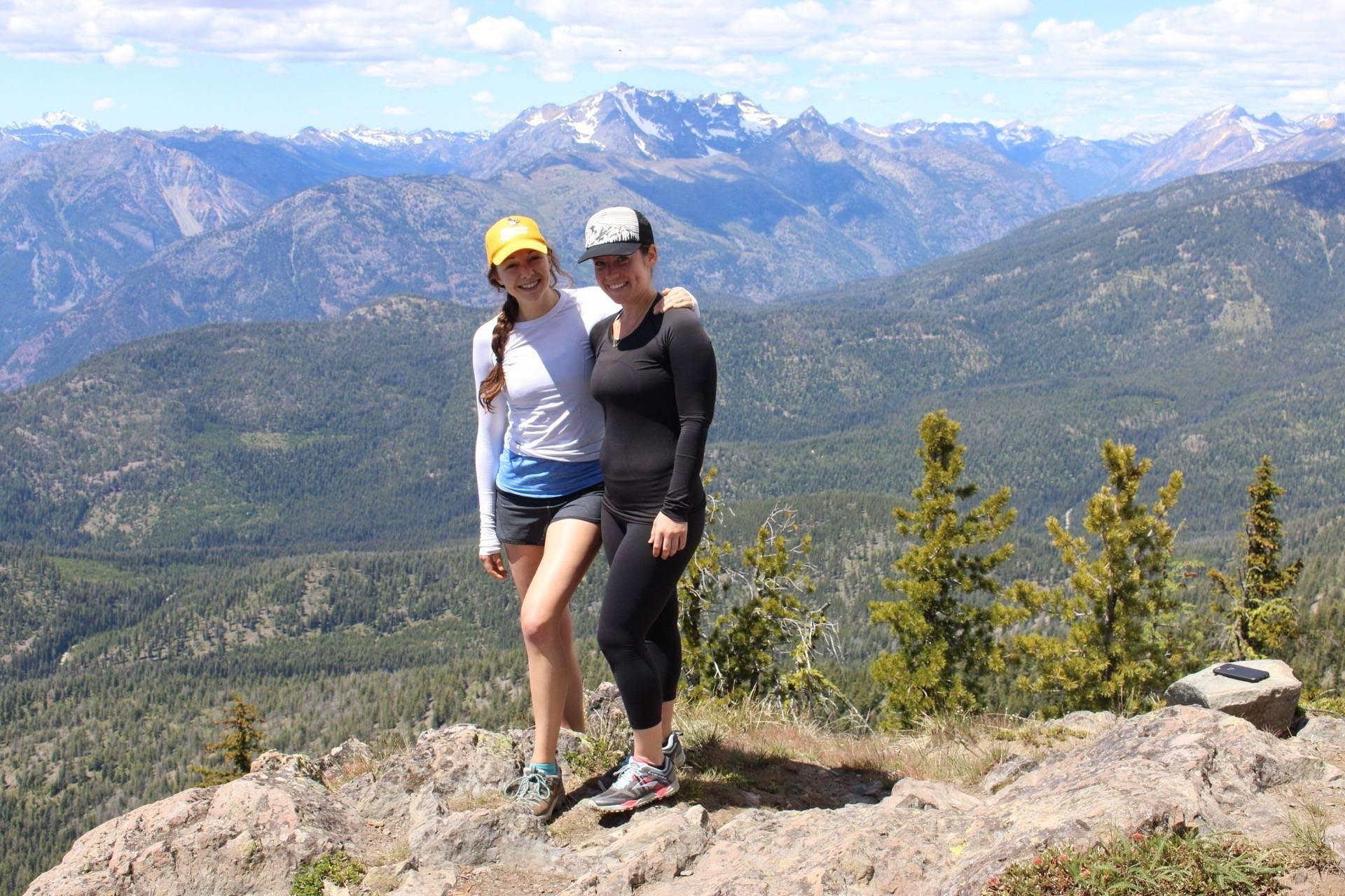 Top of Goat Peak Lookout in Mazama, WA