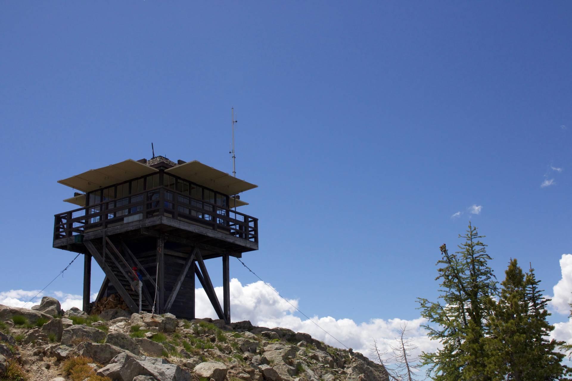 Goat Peak Lookout, Mazama WA