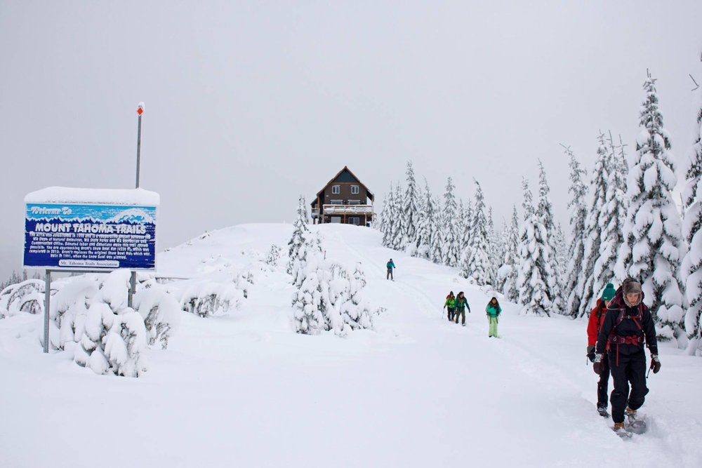 Mount Tahoma Trails Association- Snow Bowl Hut