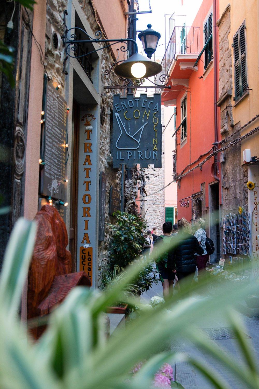 Alleyways of Corniglia Cinque Terre