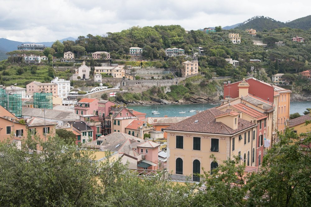 view of sestri levante  from Grand Hotel dei Castelli,