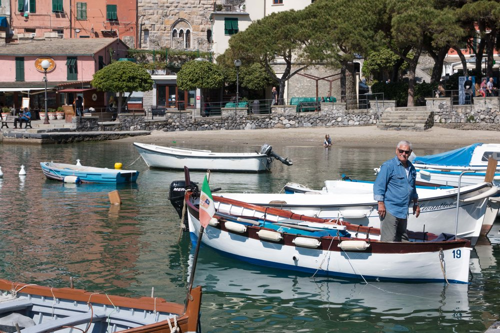 ancient fishing village of porto venere