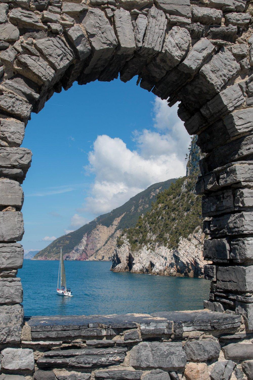 Byrons Grotto Porto Venere Italy
